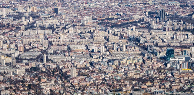 Congested city - small